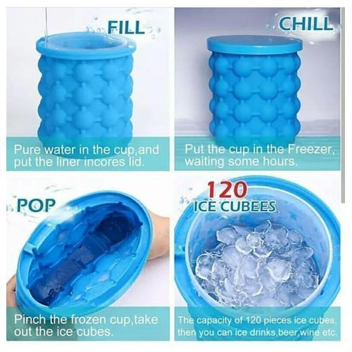 Portable Ice Cubes Maker