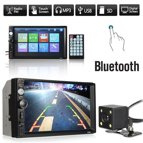 7'' Car Stereo MP5 Player Double 2Din In Dash Touch Bluetooth Radio UK ?