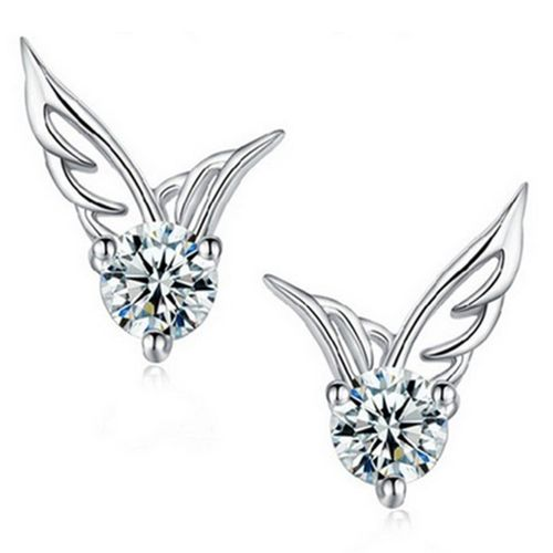 New Elegant Charms Shine Womens Girls 925 Sterling Silver Plated Jewelry Angel