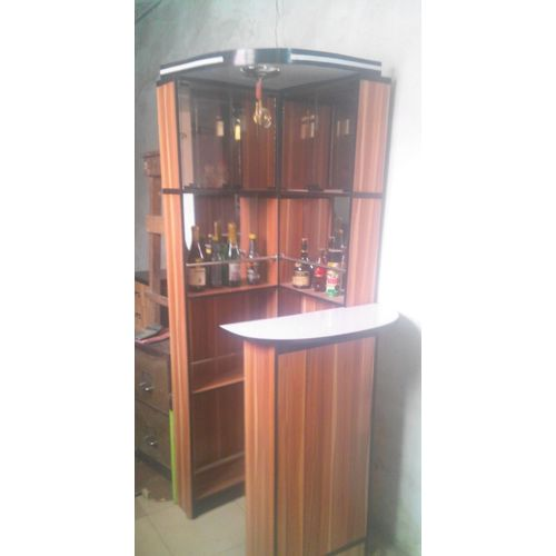 Exquisite Glass And Wooden Bar ( Lagos Order Only)