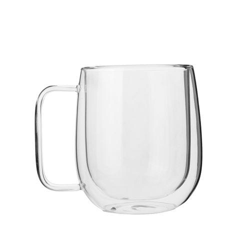 300ml Double Coffee Glass Tea Insulated Mug Espresso Cups Wine Bee