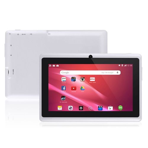 7 Inch Kids Tablet Android Quad Core Dual Camera WiFi Education Game Gift