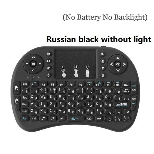 Data Frog Keyboard I8 2.4G Wireless Gamepad Keyboard For Xbox 360 For Sony Ps3 For Android TV Box PC Russia English Version CHSMALL