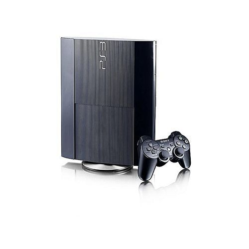 PS3 Super Slim Console 12GB + Extra Ps3 Pad