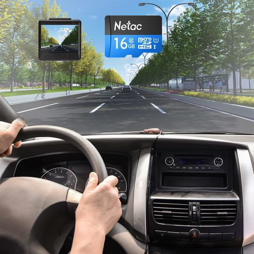 Netac P500 Class 10 16G Micro SDHC TF Flash Memory Card