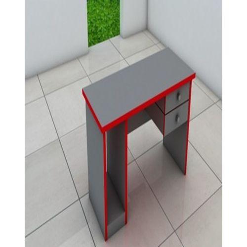Executive Single Desk- Grey & Red