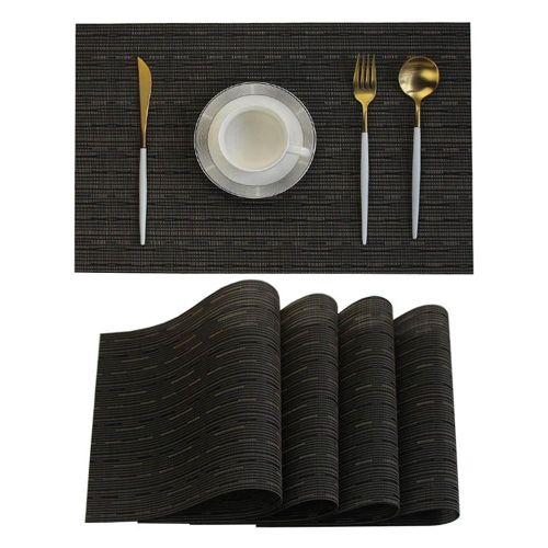 Heat Resistant Placemats Set For Dining Table