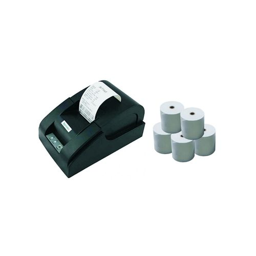 58mm Thermal PoS Printer, USB + PoS Paper X10 Rolls (No Bluetooth)