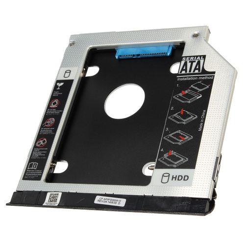 2nd HDD SSD Caddy Adapter For Dell Latitude E6420 E6520 E6320 E6430 E6530 E6330