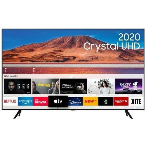 50 Inch Crystal UHD Ultra Slim 2020 Smart HDR+ LED TV