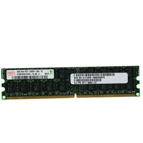 SUN 2GB PC2-5300 DIMM HYMP525P72CP4-Y5 PN: 371-3653-01