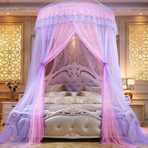 European Romantic Style Dome Mosquito Net - Multi Color