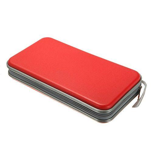Multi Colors 80x Disc CD DVD Portable Storage Case Wallet Hard Box Bag Holder