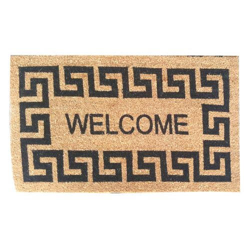 Designed Welcome Foot Mat