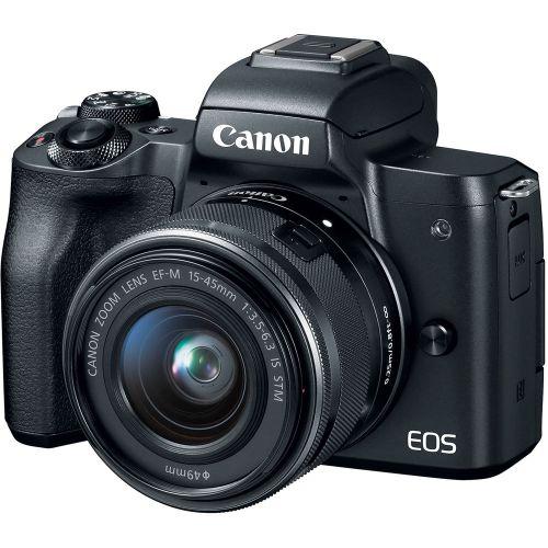 CANON EOS M50 Black KIT EF-M 15-45mm F3.5-6.3 IS STM Black