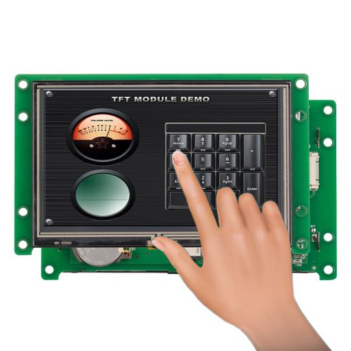 """4.3"""" LCD With Programmable Touch Screen Monitor"""