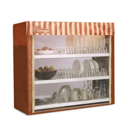 New Dish Cabinet -Multi - Colour -QDR-375C