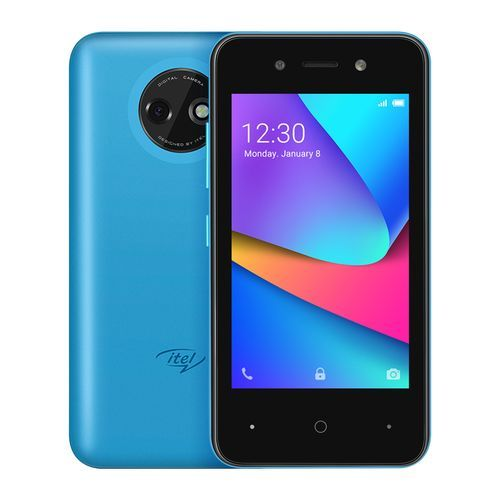 """A14 Plus, 4.0"""" Screen, 16GB ROM + 512MB RAM, Android 10, 2500mAh Battery, 3G Smartphone - Sky Blue"""