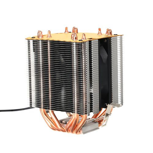Hydraulic CPU Cooler Heatpipe Fans Quiet Heatsink Radiator