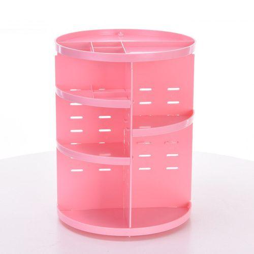 Hot Fashion 360-degree Rotating Makeup Organizer Brush Holder Jewelry Organizer Case Jewelry Makeup Cosmetic Storage Box Shelf