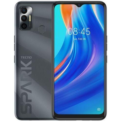 "Spark 7 (KF6i) 6.5"" HD+, 64GB ROM + 3GB RAM, 5000mAh, 16MP Dual Camera + 8MP Selfie, Android 11, 4G, Fingerprint"