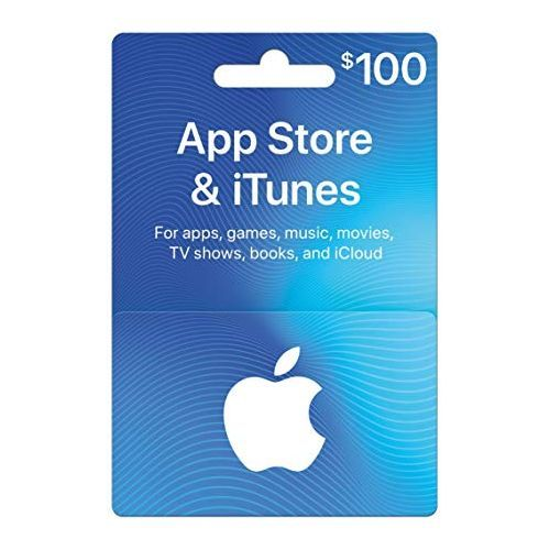 Apple ITunes 100 USD Apple Store Credit / Prepaid Card