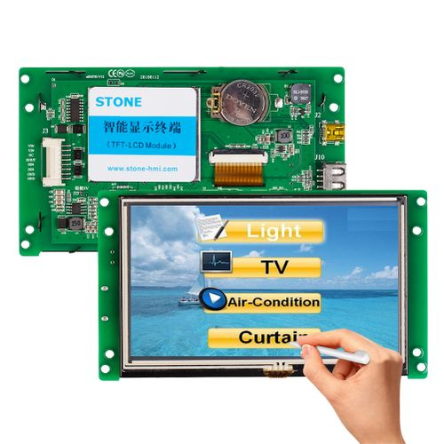 STONE 5.0 Inch Display Monitor With RS232+Software+Program