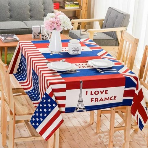 Dtrestocy British Style Dining Table Multifunctional Lacework Party Picnic Cloth Outdoor