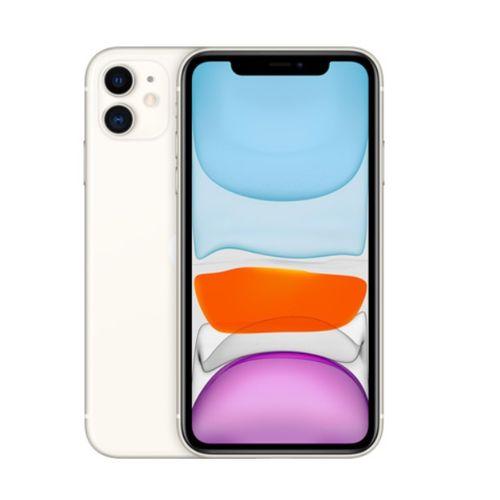 IPhone 11 6.1-Inch Liquid Retina LCD (4GB RAM, 64GB IOS 13, (12MP+12MP)+12MP 4G LTE Smartphone - White