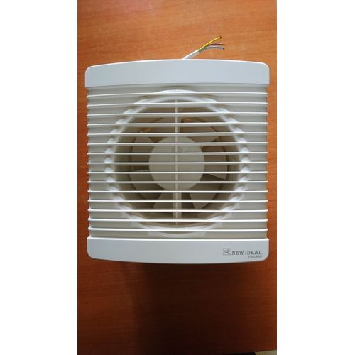 Ventilation Extractor Exhaust PVC Kitchen Bathroom Toilet Wall Fan - (10 Inch)