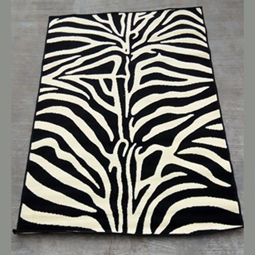 Center Rug Zebra Design - 4ft X 6ft