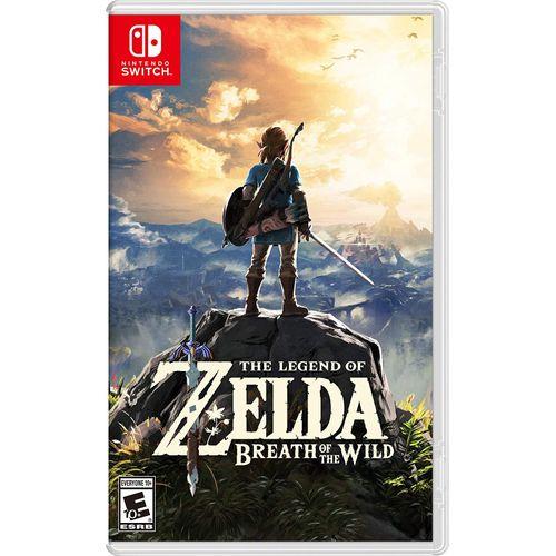 Switch The Legend Of Zelda : Breath Of The Wild