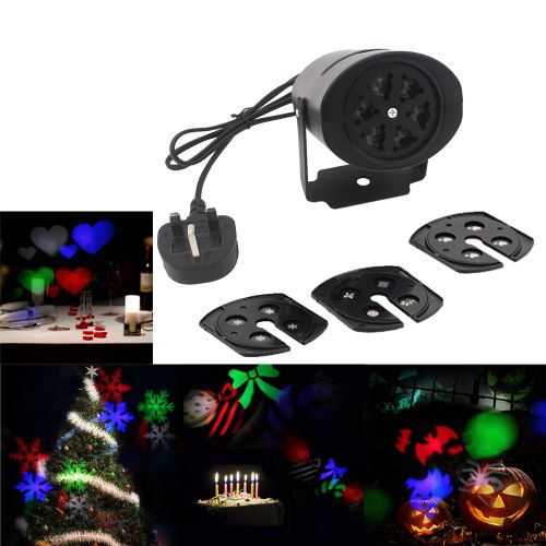85-260V 4W Mini LED RGB Gobo Light Projectior Effect Stage