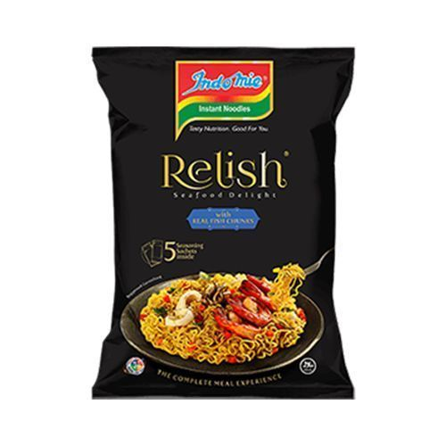 Relish Instant Noodles - Seafood Delight 200g X 10 PACKS