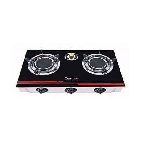 Century Quality Glass Top Burner Gas Stove