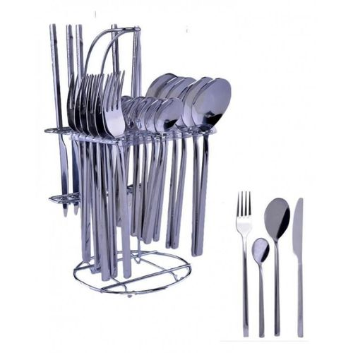 Thick Stainless Steel 24piece Cutlery Set