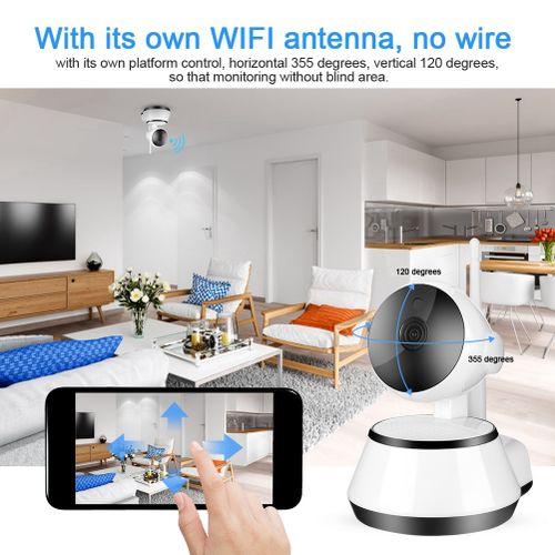 720P WiFi Smart IP Surveillance Camera Wireless IR Night Vision Security Camera 100-240V Camaras De Seguridad