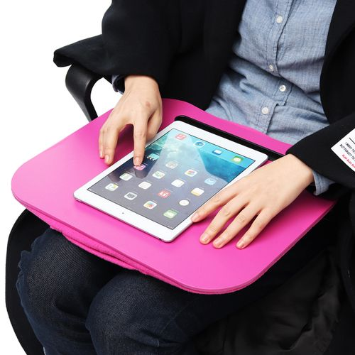 Laptop T Tray Lap Desk Bed Cushion Portable Computer Reading Writing