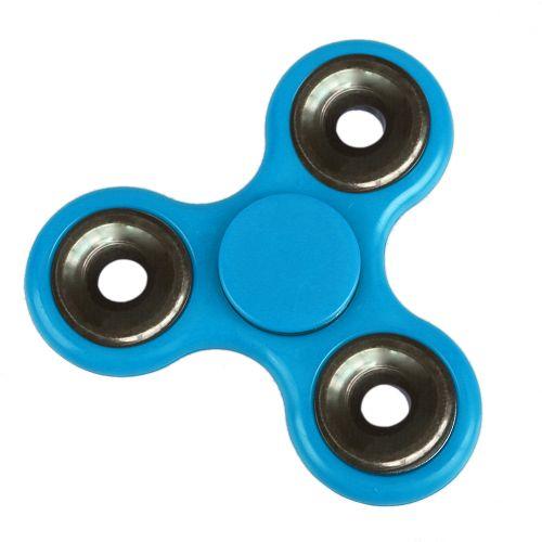 Tri Triangle Fidget Hand Finger Spin Spinner Widget Focus