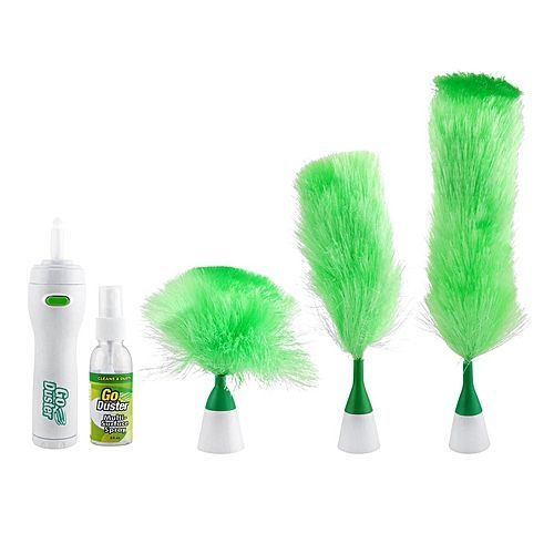 Go Duster Rotatable Motorized Cleaning Brush \