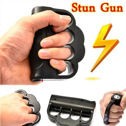 Zap Blast Knuckles 008 Type Electrode Powerful Flashlight