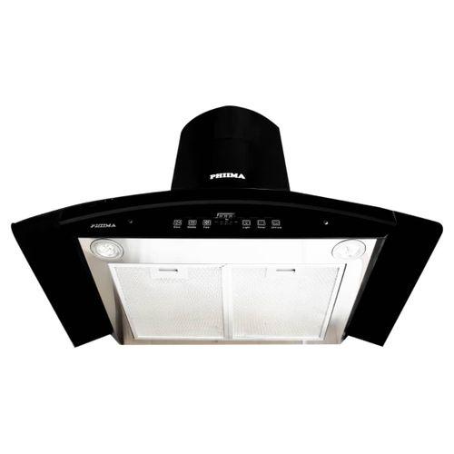 90cm Phiima Range Hood CO9LB BLACK (Digital Ductless)