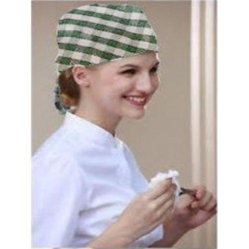 Multicolour Chef Head Hair Tie / Head Gear For Cooking