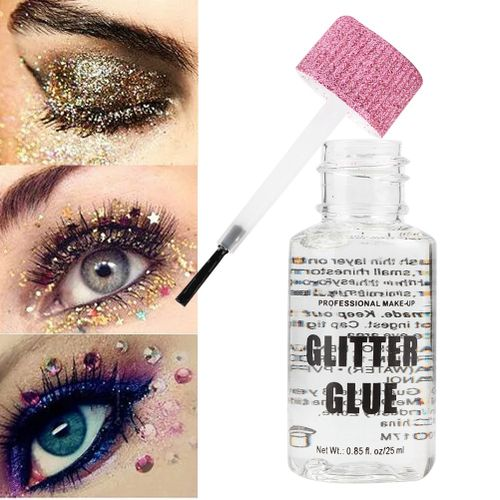 25ml/Bottle Temporary Glitter Glue Body Painting Powder Gel