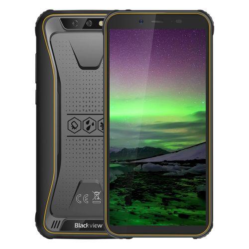 BV5500 2GB+16GB 4400mAh Battery 5.5 Inch Android 8.1 3G OTG Dual SIM EU Version Smartphone - Yellow