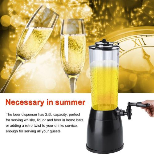 2.5L Beer Machine Beverage Dispenser Ice Tube For Wine Water Juice Bar Accessories