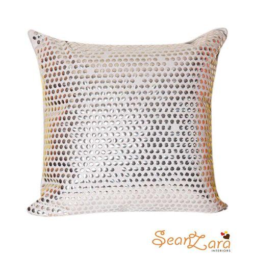 Silver Design Throw Pillow