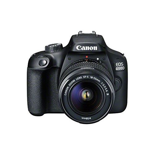 EOS 4000D DSLR With 18-55mm III Lens+64GB Free
