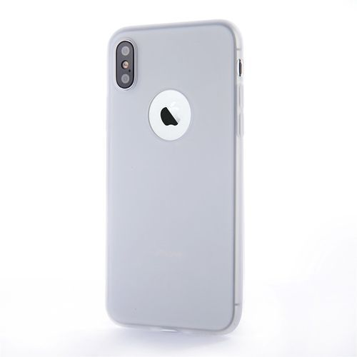 For Ipone 8 Plus Case Cell Phone Case For IPhone Soft Thin Cases Fashion Candy Color Back Cover-White