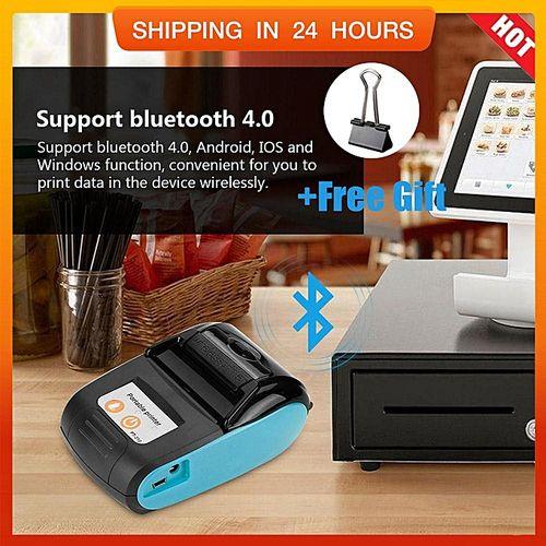 \u3010Free Gift\u3011Wireless Portable Receipt Printer Bluet